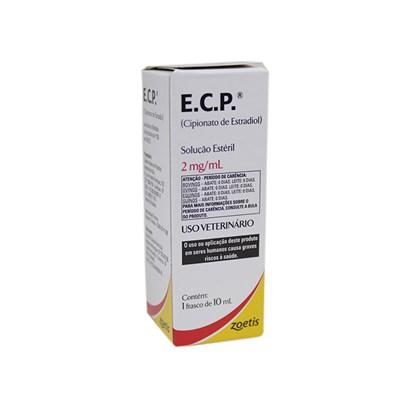 ECP - Cipionato de Estradiol Injetável - 10 mL – Zoetis