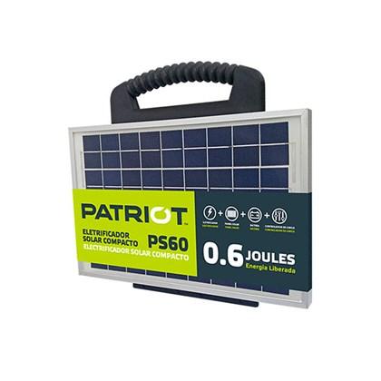 ELETRIFICADOR SOLAR COMPACTO PATRIOT PS60 – TRU TEST