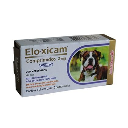 Elo-xicam – Anti-inflamatório - Comprimidos 2 mg -  Chemitec