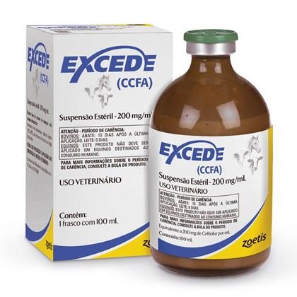 Excede Suspensão Estéril - Antibiótico de longa ação - 100 mL - Zoetis