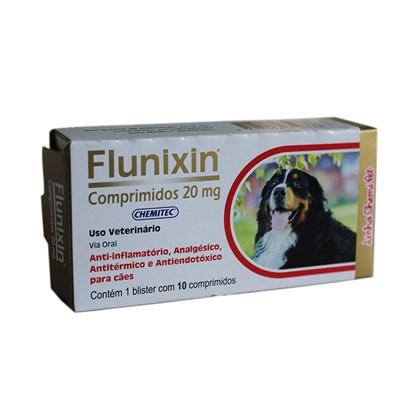 Flunixin – Comprimidos –  20 mg – Chemitec