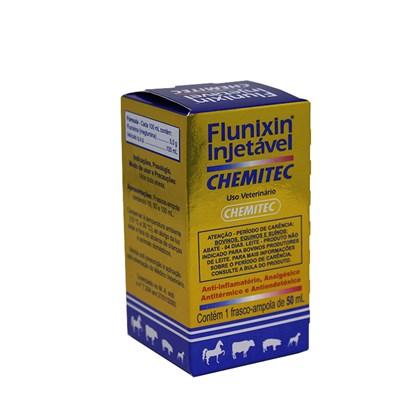 FLUNIXIN INJETÁVEL - 50 ML - CHEMITEC