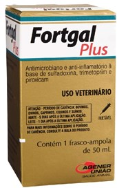FORTGAL PLUS INJETAVEL 50 ML - UNIAO AGENER