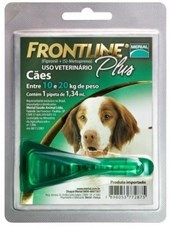 FRONTLINE PLUS MED - 10 A 20 KG - BOEHRINGER INGELHEIM