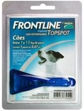 FRONTLINE TOP SPOT  - PEQ. ATE 10 KG - BOEHRINGER INGELHEIM