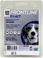 FRONTLINE TRI-ACT CÃES 10-20KG
