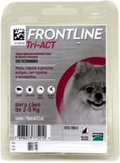 FRONTLINE TRI-ACT CÃES 2-5KG