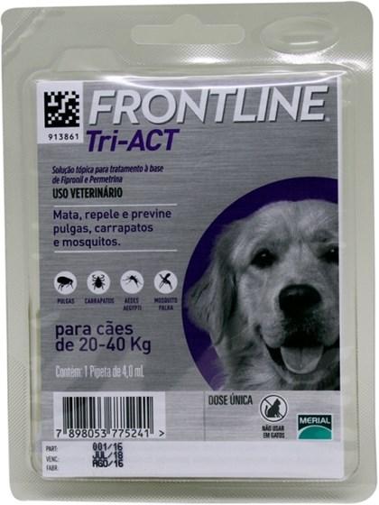 FRONTLINE TRI-ACT CÃES 20-40KG