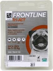 FRONTLINE TRI-ACT CÃES 5-10KG