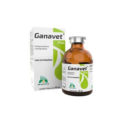 Ganavet Plus - 30 ml - J A SAÚDE ANIMAL
