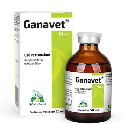 Ganavet Plus - J A SAÚDE ANIMAL - 50 ml