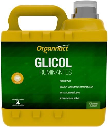 GLICOL RUMINANTES 5 LITROS - ORGANNACT