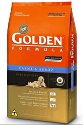 GOLDEN FORMULA-15 kg- CAES FILHOTES - CARNE