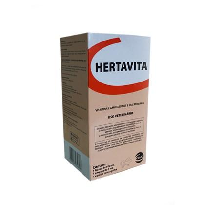 HERTAVITA C/ EQUIPO E AGULHA 500 ML - HERTAPE