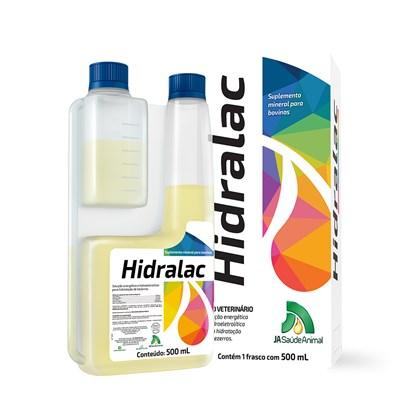 Hidralac – Suplemento Mineral Para Bovinos – J A Saúde Animal- 500 Ml