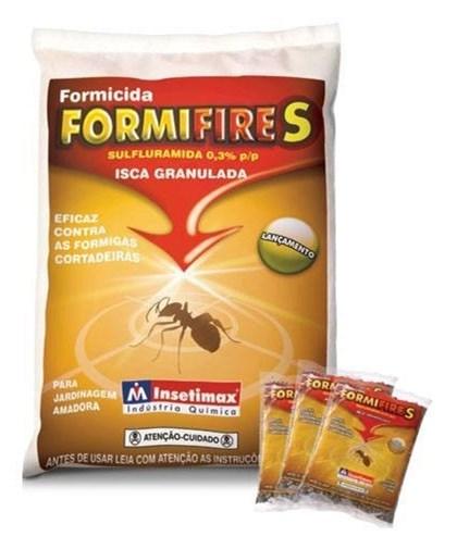 ISCA FORMICIDA GRANULADA FORMIFIRE  FIPRO - 50 GRAMAS