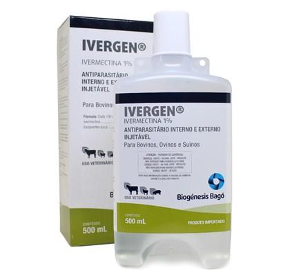 IVERGEN 500 ML - IVERMECTINA 1% BIOGENESIS