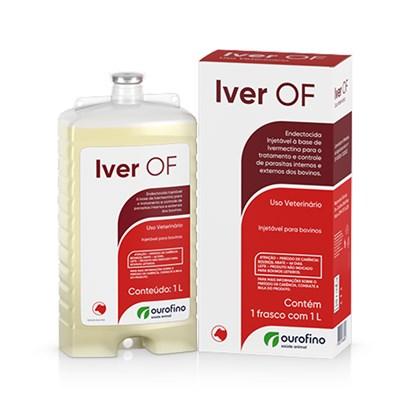 IVERMECTINA OF 1%-  1000 ML - OURO FINO