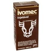 IVOMEC INJETAVEL 1000ML - IVERMECTINA A 1% - BOEHRINGER INGELHEIM
