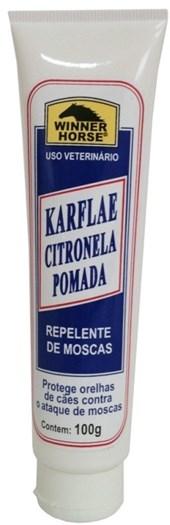 KARFLAE CITRONELA REPELENTE DE MOSCAS 100g POMADA WINNER HORSE
