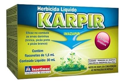 KARPIR - IMAZAPIR   FLACONETE ( Unidade com 1,5ML) - PARA 1 LT DE AGUA )