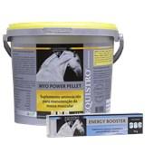 Kit: 1 Myo Power Pellet 2,3kg + 1 Seringa Energy Booster 20 gramas (ganhe 1 boné)