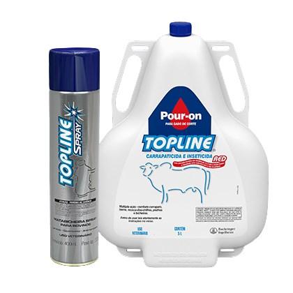 Kit: 1 Topline 5 litros + 1 Topline Spray