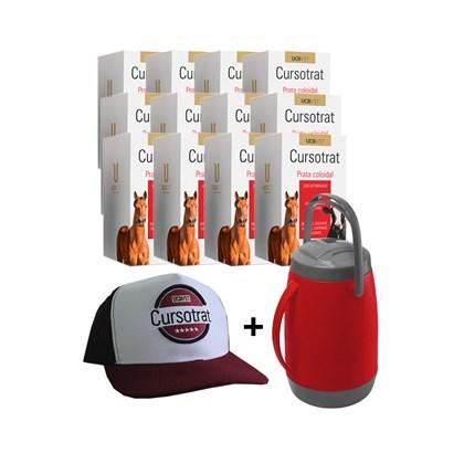 Kit: 12 Cursotrat 50ml - Ganhe 1 garrafa térmica + 1 boné – UCBVET