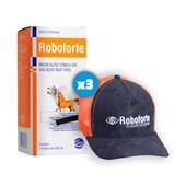 Kit: 3 Roboforte 250ml - Ganhe 1 boné exclusivo