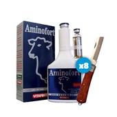 Kit: 5 Aminofort – Ganhe 1 canivete – Eurofarma