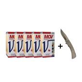 Kit: 5 MOV 500 ml – Ganhe 1 canivete - Vallee