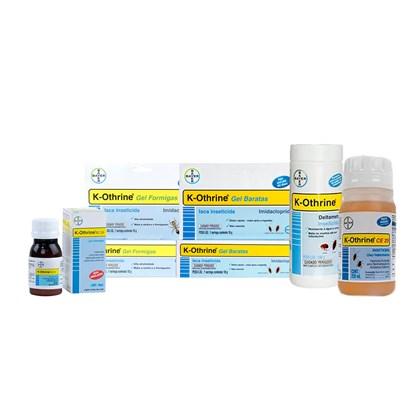 Kit K-othrine Combate e Prevenção de Baratas, Formigas e Moscas