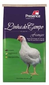 LINHA DO CAMPO - RAÇÃO FRANGOS - PACOTE 5 KGS