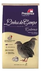 LINHA DO CAMPO - RAÇÃO PARA CODORNAS - PCT 5 KGS