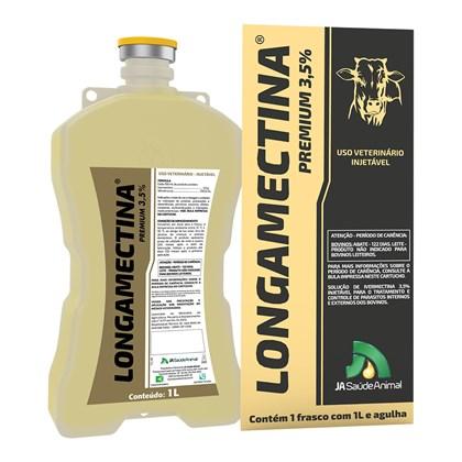 Longamectina Premium - Ivermectina 3,5% - J A SAÚDE ANIMAL -1 Litro