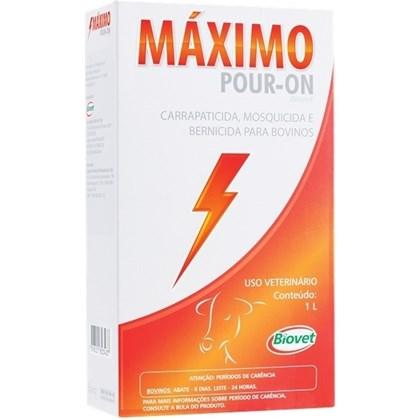 MAXIMO POUR-ON - BIOVET - 1 LITRO