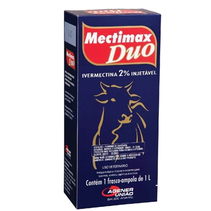 MECTIMAX DUO IVERMECTINA 2% 1000ML - AGENER