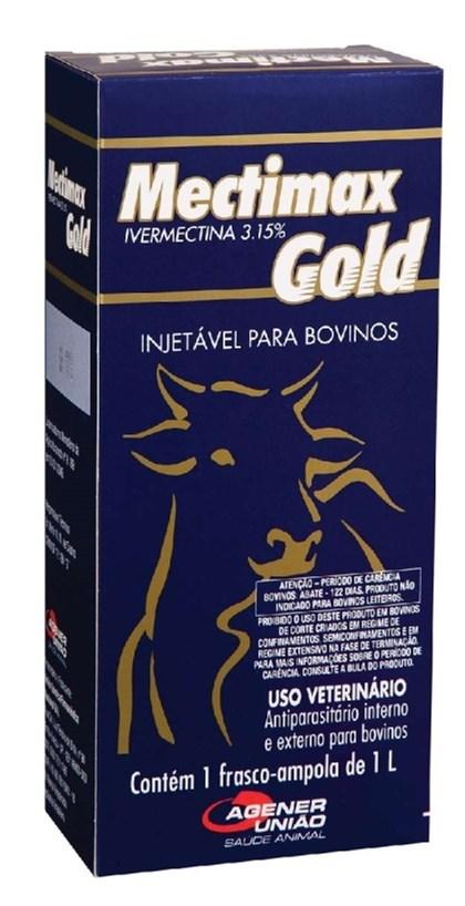 MECTIMAX GOLD 3,15% IVERMECTINA 1000 ML - AGENER