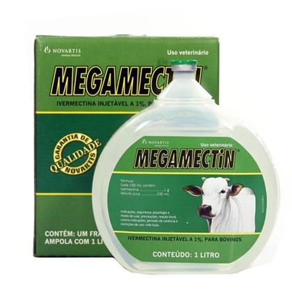 MEGAMECTIN - IVERMECTINA 1% 1000 ML -  NOVARTIS