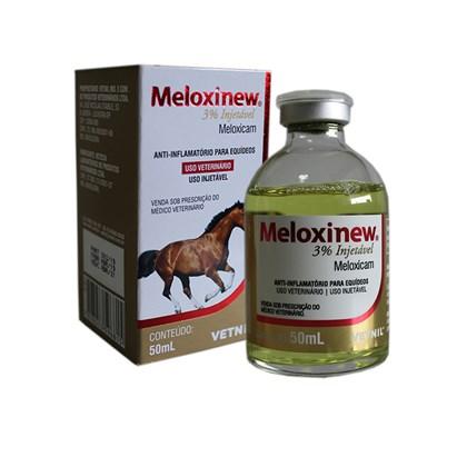 Meloxinew 3% Injetável – Vetnil – 50ml