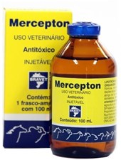 MERCEPTON 100 ML - ANTI-TOXICO INJETAVEL - BRAVET