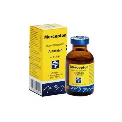 Mercepton injetável – 20ml - Bravet