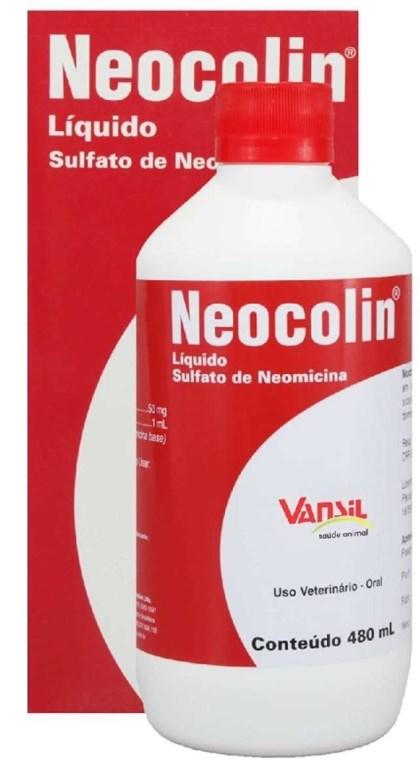 NEOCOLIN LIQUIDO 480 ML - VANSIL