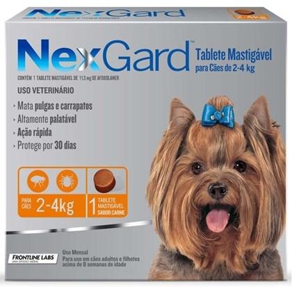 NEXGARD  2-4 KG ANTI PULGAS E CARRAPATO - MERIAL