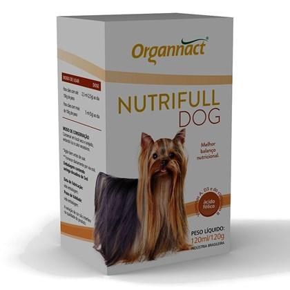 Nutrifull Dog Pet – Suplemento Vitamínico – Organnact – 120 ml