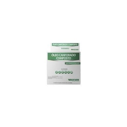 OLEO CANFORADO COMPOSTO 10 ML - BIOFARM