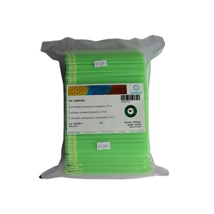 Palhetas Médias - 0,5 ml - Verde Pistache - Minitub