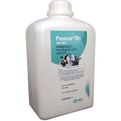 Panacur 10% Suspensão – Anti-helmíntico – 1 litro - MSD Saúde Animal