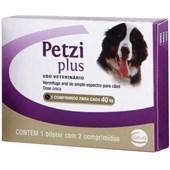 PETZI PLUS 40 KG  -  3,2 GR.
