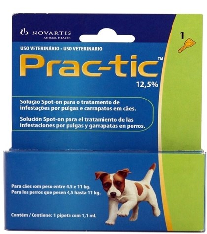 PRAC-TIC CAES  4,5 A 11 KG - MED ANTI-CARRAPATO